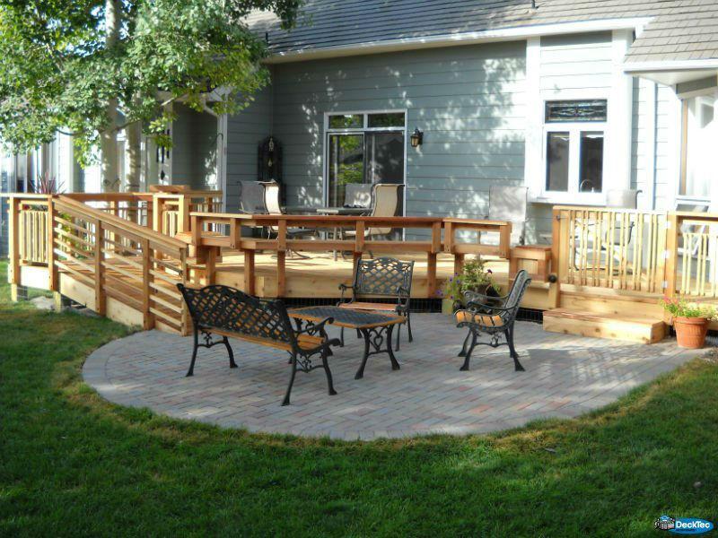 Deck & Patio Combinations - DeckTec Outdoor Designs