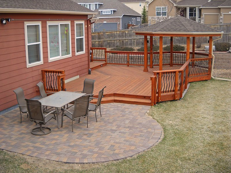 Deck & Patio Combinations - DeckTec Outdoor Designs