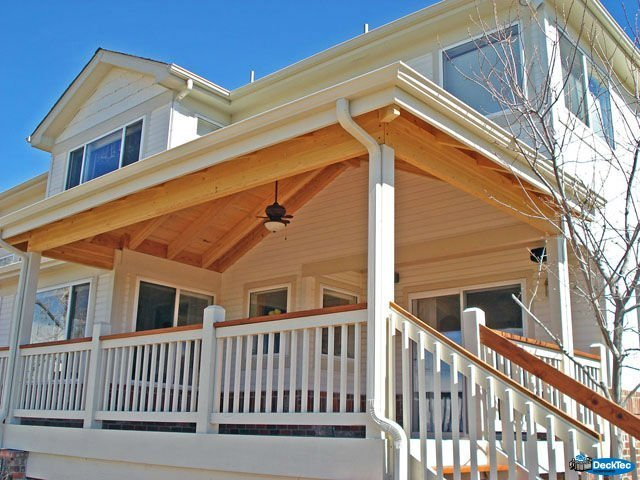 House Roof Addition Designs: DeckTec Outdoor Designs