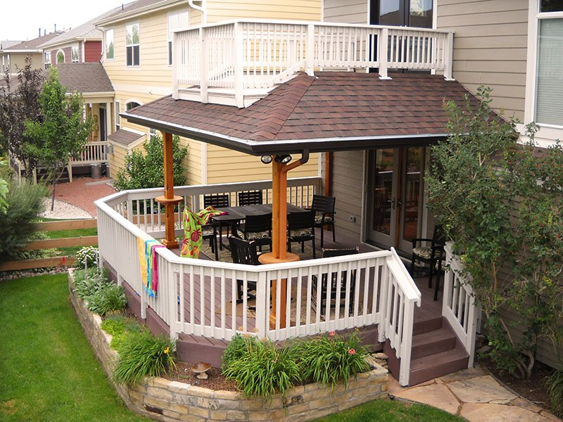 Custom Roof Additions Decktec Outdoor Designs