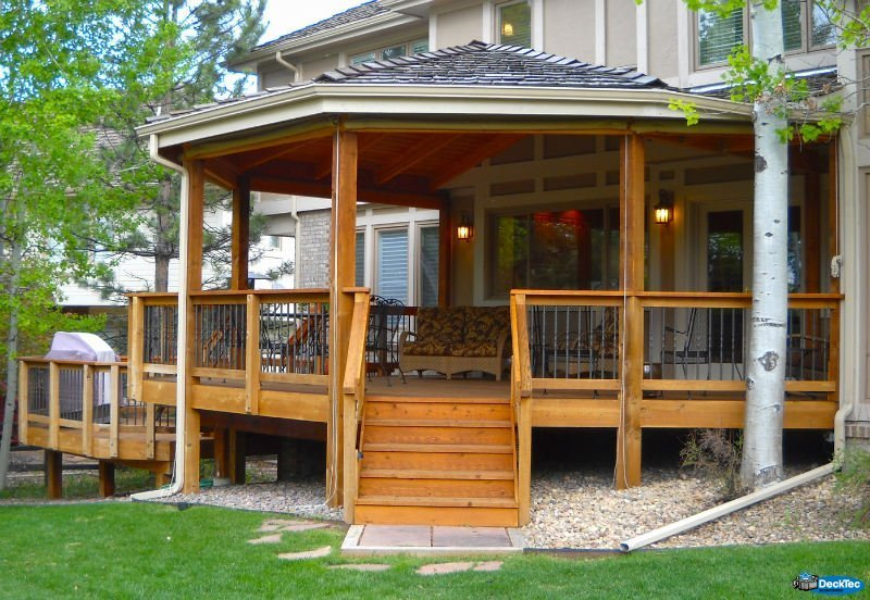 Custom Roof Additions - DeckTec Outdoor Designs on Add On Patio Ideas id=64039