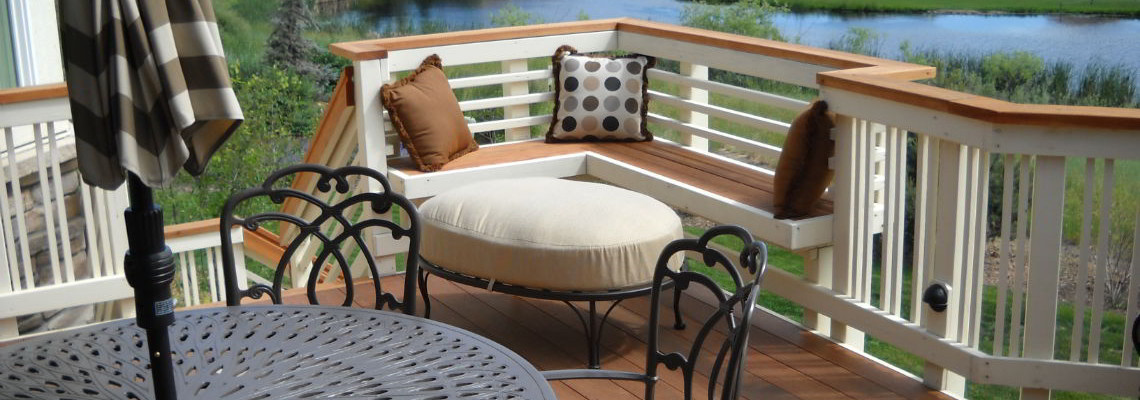Built In Furniture Decktec Outdoor Designs