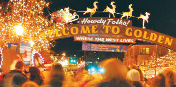 Golden, Colorado | Olde Golden Christmas