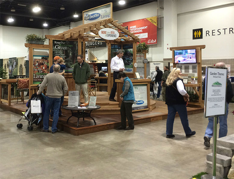 Denver Garden & Home Show 2017 - DeckTec Outdoor Designs Display - Outdoor Living Experts