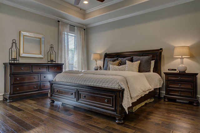 Clean Bedroom, Spring Cleaning in Denver Colorado. Featured in DeckTec Outdoor Designs Newsletter