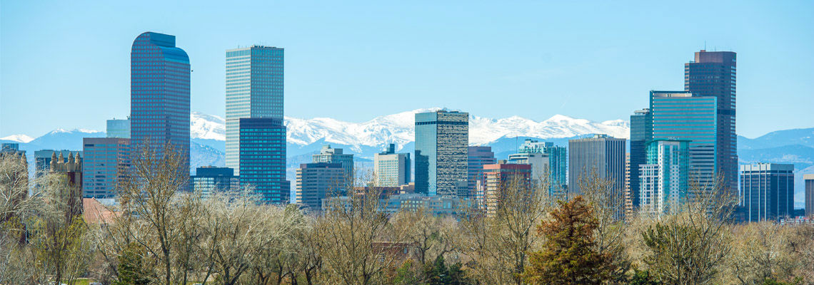 Denver Colorado Skyline, Featured in DeckTec Outdoor Design's Digital Newsletter