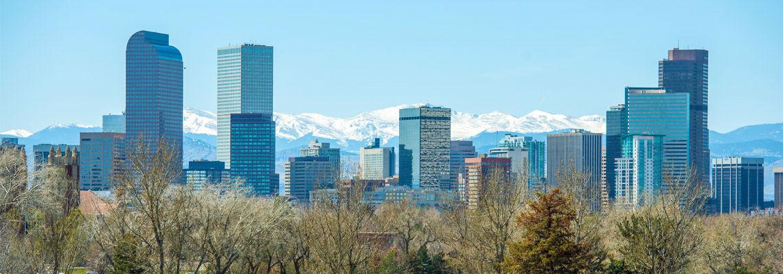 Denver Colorado Skyline, Featured in DeckTec Outdoor Design's Digital Newsletter