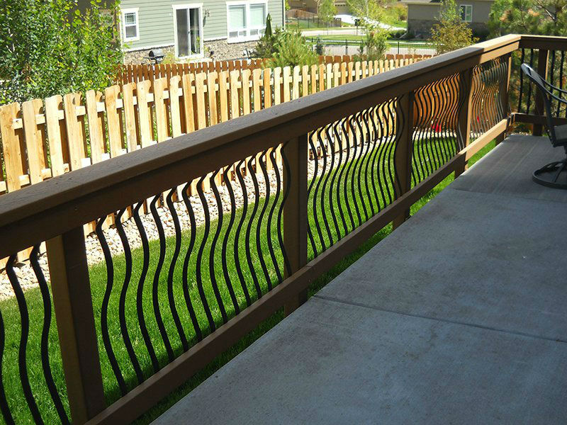 Custom Railing - DeckTec Outdoor Designs