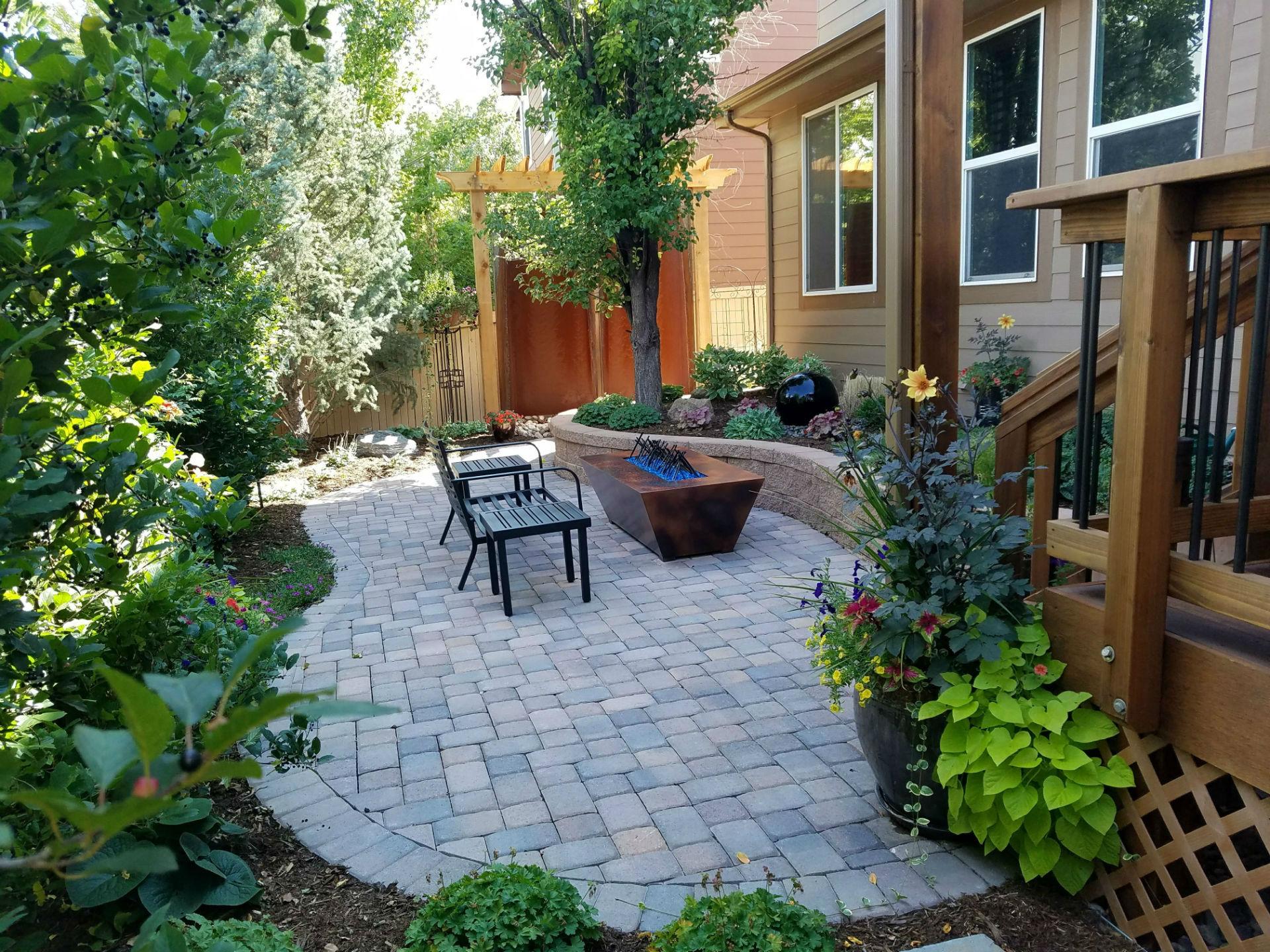 Deck & Patio Combinations - DeckTec Outdoor Designs on Back Yard Patios  id=98890