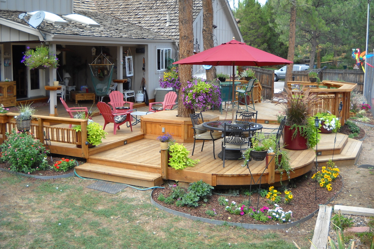 6 Tips To Protect Your Deck From Potted Plants